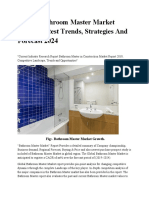 Global Bathroom Master Strategies Market Shares, Latest trends, Strategies and Forecast 2024