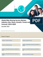 Global Bike-Sharing Service Market