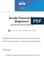 Xcode Tutorial for Beginners (Just updated for Xcode 11) by Chris Ching