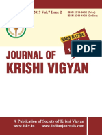 Journal of Krishi Vigyan vol 7 issue 2