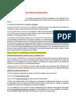 TEMA 3   LA COMPETENCIA JUDICIAL INTERNACIONAL