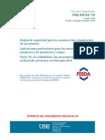 UNE EN 81-70 ASCENSORES.pdf