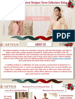 Latest Designer Saree Collections Online