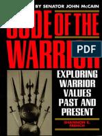 Shannon E. French - The Code of the Warrior  Exploring Warrior Values Past and Present  Кодекс Воина  исследование воинской чести прошлого и настоящего (2003, Rowman & Littlefield Publishers).pdf