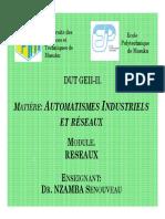 DUT GEII-II-RESEAUX-2 -2018-2019