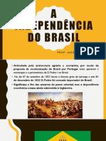 aula sobre A independência do Brasil