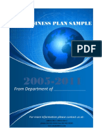 Small Business PlanTemplate