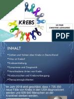 presentación sobre el Cancer /Krebs en alemán