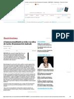 A Homossexualidade Na Vida e Na Obra de Carlos Drummond de Andrade  (Folha de S. Paulo)