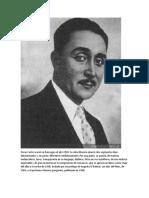 Óscar Castro nació en Rancagua el año 1910