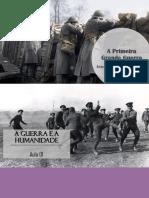 A Primeira Grande Guerra - 05 aulas