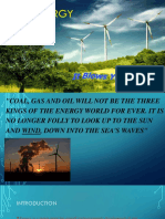 Presentation Wind Energy