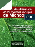 Manual de uso de las malezas silvestres de michoacan