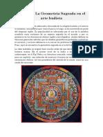 Mandala _ La Geometría Sagrada en el arte budista
