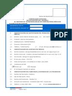 Formulario DDM-006