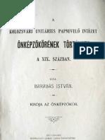 Barabás István - önképzőkör