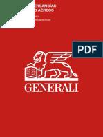 Condicionado Generali mercancias cargadores aereos