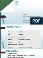 CR mielopathy