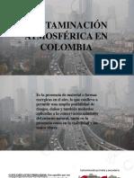 CONTAMINACIÓN ATMOSFÉRICA EN COLOMBIA