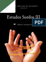 Estudos Surdos-LIVRO III