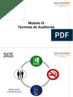 Tecnicas de Auditorias  y Habilidades  de Liderazgo