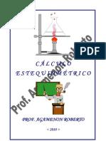Cálculos Estequiométricos - Profº Agamenon Roberto