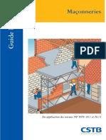 Guide Pratique. Maçonneries. En application des normes NF DTU 20.1 et 20.13.pdf