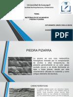 PIEDRA PIZARRA