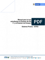 Manual inscripcion estudiantes saber 11 y pre saber 2020.pdf