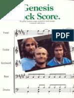 Genesis Rock Score
