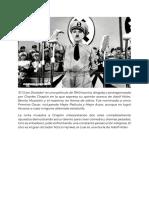 Cine. El Gran Dictador.docx
