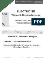 E211_ Electrocinéttique 1 Dipôles