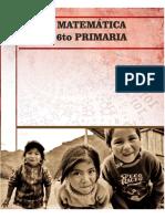 MATEMÁTICA 6TO PRIMARIA