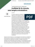 García_La neutralidad de la ciencia
