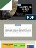 NORMAS DE QUITO