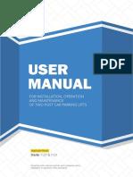 Starke 1127&1121 User Manual 2019