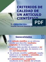 criteriosdecalidaddeunarticulocientifico-120121184925-phpapp02