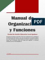 Manual de Organización y Funciones 2019