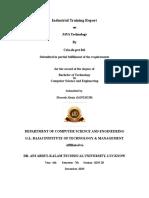 Industrial Training Report ITR_Format 2019-2020 (1)