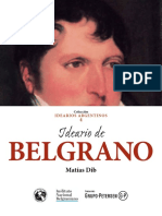 Ideario de Belgrano PDF