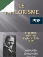 Le Taylorisme