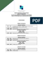 Cronograma Curso Test de Rorschach CETI 2019 II