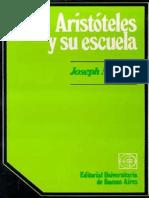 Moreau Joseph - Aristoteles Y Su Escuela.pdf