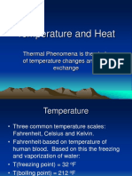 Temperature and Heat