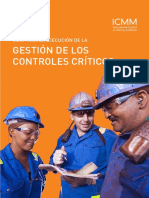 GESTION DE LOS CONTROlES CRITICOS