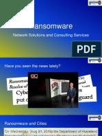 Ransomware 2019