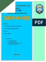 INFORME PUENTE FIDEOS FINAL