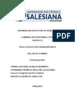 Copia de INFORME DE ENSAYO DE MATERIALES (Esclerómetro)