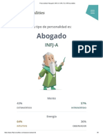 "Personalidad ""Abogado"" (INFJ-A _ INFJ-T) _ 16Personalities"