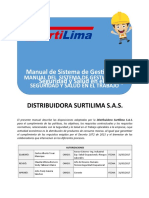 Manual SG-SST Distribuidora Surtilima S A S..docx